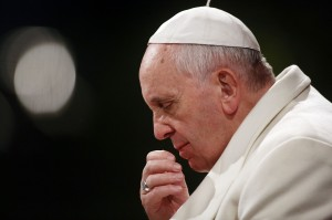 Pope Francis Leads Stations of The Cross